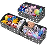 GRANNY SAYS Storage Bins, Kid's Closet Organizer Bins, Trapezoid Nursery Storage Organizer Toy Storage Baskets, Cute Star Pat