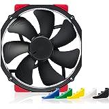 Noctua NF-A15 HS-PWM chromax.black.swap, Premium Quiet Fan, 4-Pin (140mm, Black)