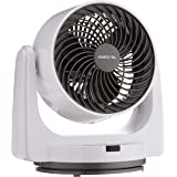 """MISTRAL MHV800R High Velocity Power Fan with Remote, 8"""", White"""