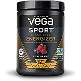 New Vega Sport Sugar Free Energzier Acai Berry (35 Servings, 4.0 oz Tub) - Vegan, Keto-Friendly, Gluten Free, Sugar Free, All
