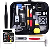 Vastar 151 PCS Watch Repair Kit, Watch Repair Tools Professional Spring Bar Tool Set, Watch Band Link Pin Tool Set with Carry