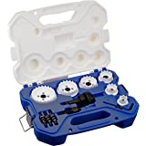 Lenox Tools 30878500CHC Electrician's Carbide Hole Cutter Kit, 15-Piece