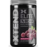 XTEND Elite BCAA Powder Black Cherry | Sugar Free Post Workout Muscle Recovery Drink with Amino Acids | 7g BCAAs for Men & Wo