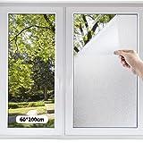 [Amazon限定ブランド] PROTEALL 窓用フィルム 窓ガラスフィルム めかくしシート すりガラス調 プライバシー保護 ガラス飛散防止シート 台風対策窓フィルム 断熱遮熱シート UVカットフィルム 貼り直し可能 貼ってはがせる 外から見えない