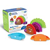 Learning Resources Spike the Fine Motor Hedgehog Rainbow Stackers, Amazon Exclusive, Stacking & Counting Toy for Toddlers, Ag