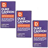 Duke Cannon Supply Co. - Big American Brick of Soap, Smells Like Naval Supremacy (3 Pack of 10 oz) Superior Grade Masculine S
