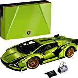 LEGO Technic Lamborghini Sián FKP 37 (42115), Model Car Building Kit for Adults, Build and Display This Distinctive Model, a