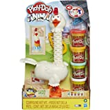 Play-Doh - Animal Crew - Cluck a Dee Feather Fun Chicken- Kids Sensory Toys - Arts and Crafts Activities - Girls and Boys -