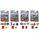 Transformers Toys Botbots Series 3 Season Greeters 5 Pack – Mystery 2-in-1 Collectible Figures! Kids Ages 5 & Up (Styles & Co