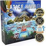 [全米で多数の賞受賞!]Latice Hawaii ラティス ハワイ 戦略ボードゲーム こどもから大人まで楽しめるファミリーゲーム 日本語説明書付属 正規品