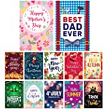 """Lovely Flag Seasonal Garden Flag Set of 12 
