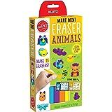 Klutz 832867 Make Mini Eraser Animals, Brown