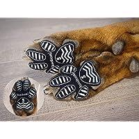 LOOBANI 犬 足 パッド くつ ペット 靴下 滑り止め 肉球 保護 傷防止 すべり 止め フット 犬 用 パッド…