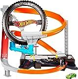 ホットウィール(Hot Wheels) ハイパーブースト タイヤショップ プレイセット 【専用ベーシックカー1台付き…