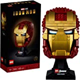 LEGO Marvel Avengers Iron Man Helmet 76165; Brick Iron Man-Mask for-Adults to Build and Display, Creative Challenge for Marve