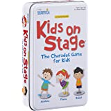 University Games 1493 Charades Kids on Stage Game Tin, Small