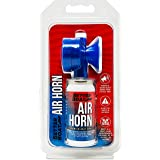 Air Horn for Boating Safety Canned Boat Accessories   Marine Grade Airhorn Can and Blow Horn or Compressed Horn Refills