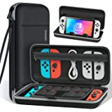 Switch Carrying Case for Nintendo Switch OLED Accessories, Switch Protective Case Cover with Stand, Switch Portable Travel Ba