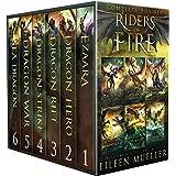 Riders of Fire Complete Series Box Set books 1-6: YA Epic Fantasy Dragon Rider Adventures