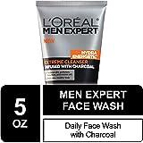 L'Oréal Paris Men's Expert Hydra Energetic Charcoal Cream Cleanser, 5 fl. oz.