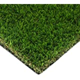 HouseAid Realistic Indoor/Outdoor Artificial Turf Lawn, Man-Made Grass Lawn for Garden, Synthetic Landscaping Grass Mat, 3.9