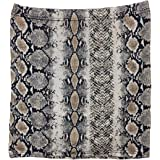 Adults Womens Ladies Fancy Hen Night Party Wear Animal Snake Print Mini Skirt Small/XX Large