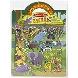 Melissa & Doug 9106 Puffy Sticker Play Set: Safari - 42 Reusable Stickers