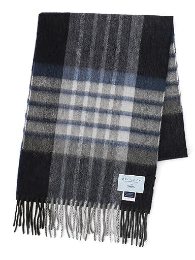 Wool Angora Scarf 118-36-0035: Charcoal
