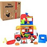 Disney Junior Mickey Mouse Outdoor and Explore Camper, Lights and Sounds Playset, Amazon Exclusive, by Just Play
