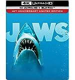 【Amazon.co.jp限定】ジョーズ 4K Ultra HD+ブルーレイ スチールブック仕様[4K ULTRA HD + Blu-ray]