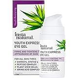 Eye Gel Cream - Wrinkle, Dark Circle, Fine Line & Redness Reducer - Pure & Organic Anti Aging Blend for Men & Women with Hyal