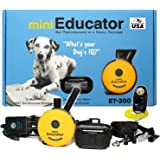 E-Collar Waterproof Remote Dog Trainer - ET-300 1/2 Mile Range for Medium or Long Coats and Thick Fur with PetsTEK Training C