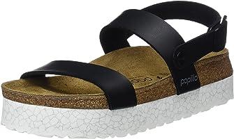 Birkenstock Cameron Narrow Fit - Monochrome Marble Black 1009060 (Man-Made) Womens Sandals 37 EU