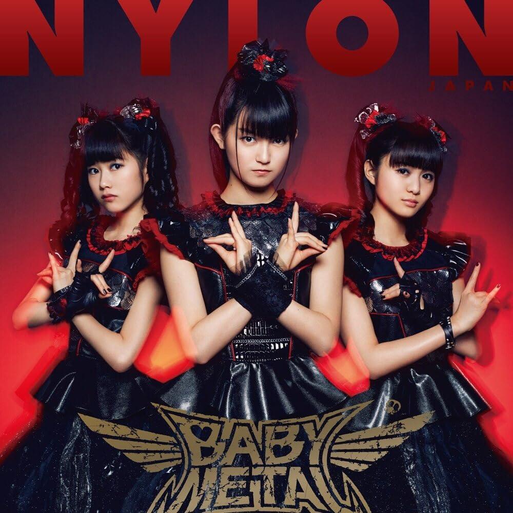 Babymetal Nylon Japan 16年 5月号 Ipad壁紙 画像 スマポ