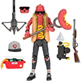 """Fortnite Legendary Series, The Brat, 1 Figure Pack - 6"""" Articulated Action Figure - Includes 1 Harvesting Tool, 3 Weapons, 1"""
