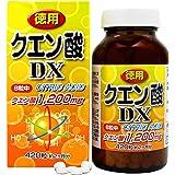ユウキ製薬 徳用クエン酸DX 52-60日分 420粒