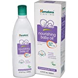 Himalaya Nourishing Baby Oil, Light & Non-Greasy for a Soothing Massage or Baby Bath, 6.76 oz, 2 Pack