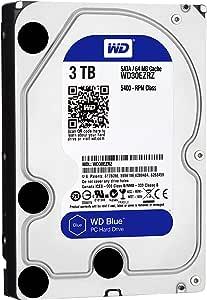 【国内正規代理店品】Western Digital WD Blue 内蔵HDD 3.5インチ スタンダードモデル 3TB SATA 3.0  (FFP) WD30EZRZ/AFP