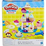 Play-Doh - Kitchen Creations - Bakery Creations Playset - Inc 19 Acc and 8 Tubs of Dough - sensory and educational craft toys
