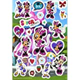Minnie Mouse Jumbo Stickers - Extra Large Raised Minnie Mouse Stickers