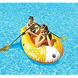 Poolmaster 87420 Swimming Pool and Lake Inflatable Boat, Islander Orange
