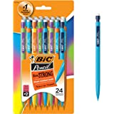 BIC Pencil Xtra Strong (Colourful barrels), Thick Point (0.9 mm), 24ct