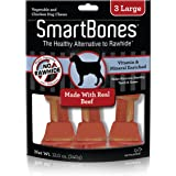 Smartbones Beef Dog Chew, Large, 3 Pieces/Pack