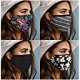 Cotton Face Mask Washable and Reusable Adjustable Elastic Ear Loop Breathable