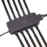 EZDIY-FAB 10ポート ファンハブ 、 PWMファンハブ/スプリッター 、4ピンおよび3ピンファン用、pwm機能対応 Sata電源入力ファンハブ