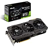 ASUS TUF Gaming NVIDIA GeForce RTX 3080 OC Edition Graphics Card (PCIe 4.0, 10GB GDDR6X, HDMI 2.1, DisplayPort 1.4a, Dual bal