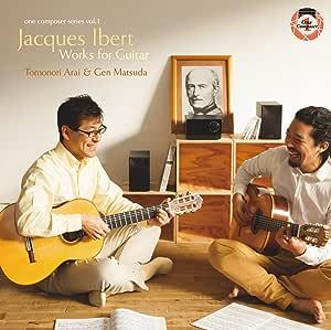 ギターのためのジャック・イベール作品集