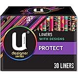 U BY KOTEX Liners U by Kotex Designer Protect Liners (Pack of 30), Pack of 30 0.111 kilograms