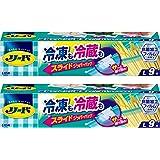 【Amazon.co.jp 限定】【まとめ買い】リード 冷凍・冷蔵保存バッグ スライドジッパー フリーザーバッグ L 9枚×2個