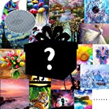 4 Pack Blind Box XPCARE 5D DIY Diamond Painting Kits for Adults Random Diamond Paintings Picture for Home Decoration